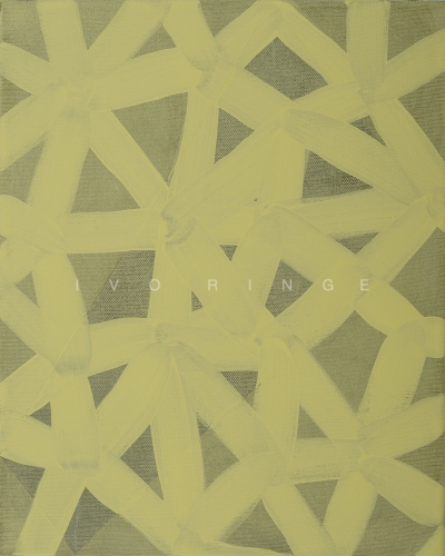 """Yellow"", 2015, Acryl auf Leinwand, 50 x 40 cm"